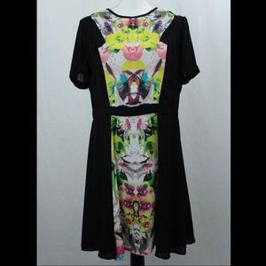 Prabal Gurung for Target Short Sleeve Floral Dress
